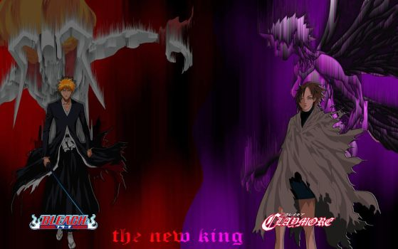 bleach and claymore2. by brazilking