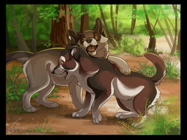 Brothers by DawnFrost