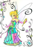 Tinker Bell's New Look by SeraphimKiss88
