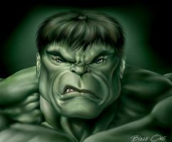 Hulk the Green Scar by Blaze0ne