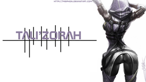 Tali simplistic wallpaper by memoryman15