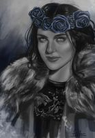 Lyanna Stark by palm223