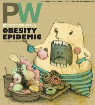 the Philadelphia weekly cover by superjet009