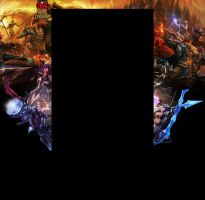 League of Legends youtube background by duduOmag