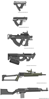 Just some 0.6 guns XXI by Robbe25