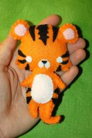 pocket tiger by Greencherryplum