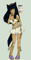 VolSa: Akila Re-Design Colored by DizDear