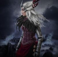 Flemeth - The Witch Of The Wilds by ParadisiacPicture