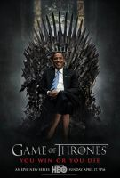 Obama on Game of Thrones by jeaf7