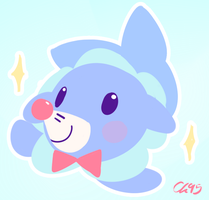 Popplio by charliechip95