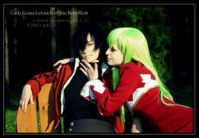 CODE GEASS: C.C. and Lelouch by KoujiAlone