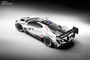 Ford GT LM race car spec III pic 3 by girabyte225-jc-lover