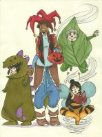 Legend of Korra Halloween contest entry by LilyScribbles