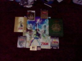 My LoZ Collection by ImAKitsune72