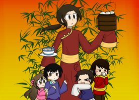 Asia Family (ask China!) by Triforcefangirl