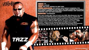 WWE Tazz ID Wallpaper Widescreen by Timetravel6000v2