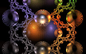 glass bubbles with different pattern by Andrea1981G
