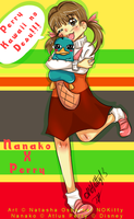 Nanako And Perry by missnokitty