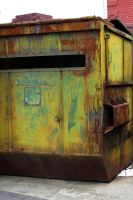 psychedelic dumpster by mythical-darkener