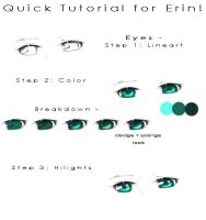 Quick Eye Coloring Tutorial :x by Echoic