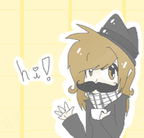 Hello Mrs.Micamostacho by MicaelaMeow