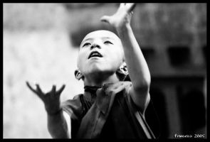 B+W Ladakh Children 6 by francescotosi