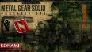 Metal Gear Solid Portable Ops by LukeLlenroc