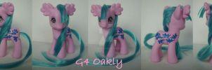 My little Pony Custom G4 Oakly by BerryMouse
