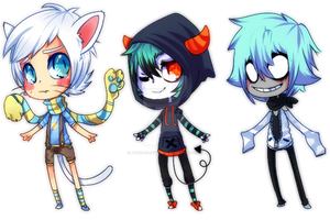 Boys adoptables ! CLOSED by Patie-Adoptables