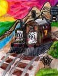 Toby and Mavis Sunset by SonicClone