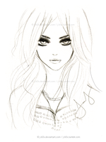 The Pretty Reckless - Sketch by j-b0x