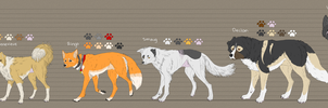 Flock Height Chart by prysmyr