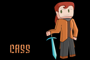 Minecraft Character 14- Cassedy by Ardwick