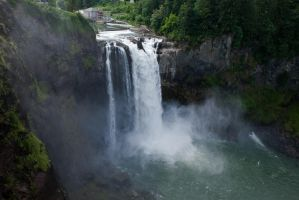 Snoqualmie Falls, Washington by photoboy1002001