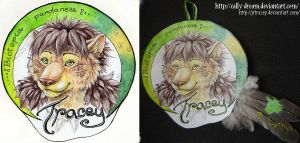 Badge-Tracey by Cally-Dream