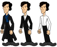 Sherlock Cartoon by CPD-91