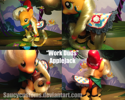 Work Duds Applejack by saucycustoms