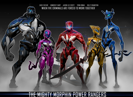 The Mighty morphine Power Rangers by Peachlab
