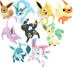 Eeveelutions by LV9