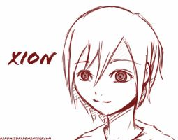 Xion sketched by Chyaari