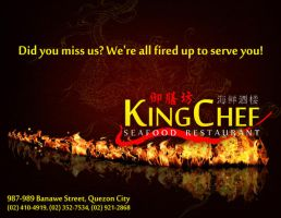 King Chef re-opening AD by Jennsam