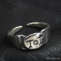 Silver Toutatis ring by Sulislaw