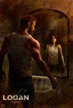 LOGAN international movie poster by TARGETE