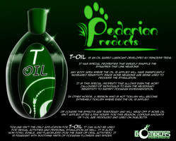 Podarian Products: T-Oil... by Sir-Bombers