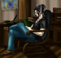 Tovaras Reading by TovarasNightroad