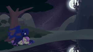 Moonlight Slumber by Whatsapokemon