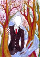 The SlenderMan by Sombrero-de-Copa