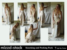 Knocking and Peeking Pack by mizzd-stock