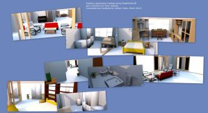 Fictitious Apartment by ibr-remote