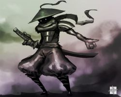 Samurai dude speedy! by StephenH-TRIPP